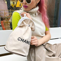 CHANEL NOVERTY POOL BAG SMALL  ivory