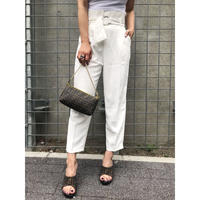 RING BELT TAPERED PANT