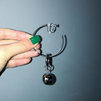 2WAY HOOP BALL EARRING