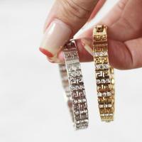 Rhinestone Hollow design Bracelet