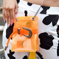 BELT PVC SHOLDER BAG