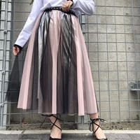 【CUBRUN】COLOR SCHEME LAYERD TULLE SKIRT
