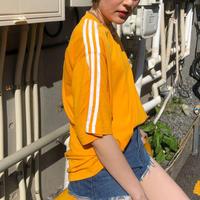 USED  adidas 3line T-shirts【 orange 】