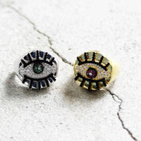 RHINESTONE  BIG  EYE  RING