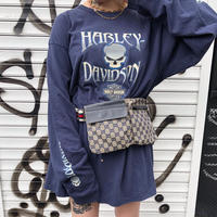USED  HARLEY-DAVIDSON  LONG  SLEEVE  TEE 【18】-6800-
