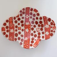 イバタカツエ作 ペダルプレート大皿