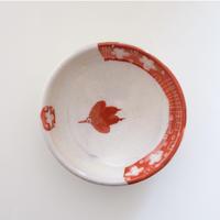 イバタカツエ作 赤絵豆皿G