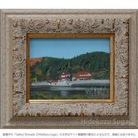 須飼秀和「宍道湖で見た風景」