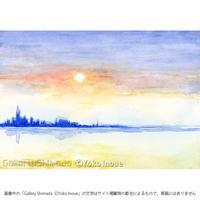 井上よう子「記憶の渚にて」挿絵原画34