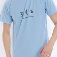 松尾一彦 ひとりぼっちのあいつTシャツ【ライトブルー】