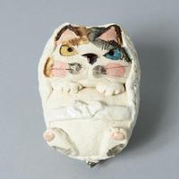岡村洋子「猫かぶり・おくるみハリー」