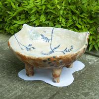 ひがしりょうこ 「猫面(ネコヅラ)メダカ鉢」