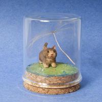 小出信久「大きいわたげとネコ」