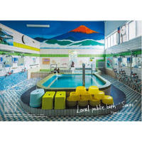 "English version / Matsubara Yutaka / Local public bath ""Sento"" photo book"