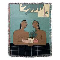 "Mini Blanket ""Parallel Movements"" - bfgf"
