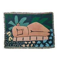 """Mini Blanket """"Garden At Night"""" - bfgf"""