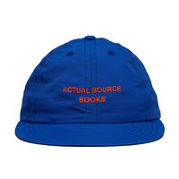 ComfyBoy™ Runner Hat [Royal with Orange] by Actual Source