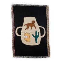 "Mini Blanket ""Pottery - bfgf"
