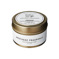 APOTHEKE FRAGRANCE Travel Tin Candle - Possess / Teakwood / Earl Grey&Grapefruit / Basil+Sage+Mint