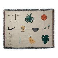 "Regular Blanket ""WWA Horizontal"" - bfgf"