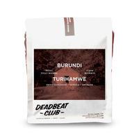 """Deadbeat Club Coffee """"BURUNDI - TURIHAMWE"""""""
