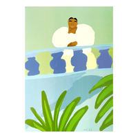 """""""Balcony"""" Screen Print by Lilian Martinez [プリントのみ]"""