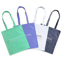 gallery commune Classic Logo Tote [Mint / Lilac / White / Gray]