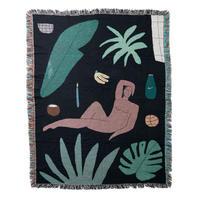 """Mini Blanket """"Tropical Shadows"""" - bfgf"""