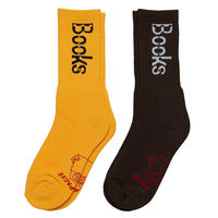 CCTV Socks (Yellow/Brown) by Actual Source