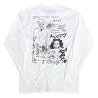 "Jesse Michaels × gallery commune ""BODY MATH"" Long Sleeve Tshirt"
