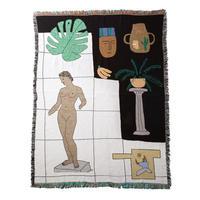 "Regular Blanket ""Museum"" - bfgf"