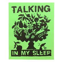 """Talking in My Sleep"" Screen Print by B.Thom Stevenson [プリントのみ]"