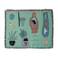 "Mini Blanket ""Slam Dunk"" - bfgf"