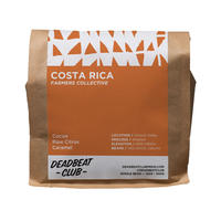 "Deadbeat Club Coffee ""COSTA RICA"""