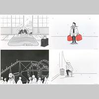 """""""季節の記録"""" Riso Print Group A by 小幡彩貴"""