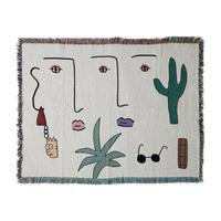 """Mini Blanket """"Desert Days"""" - bfgf"""