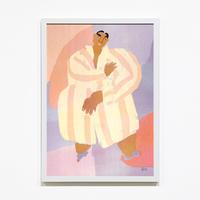 """Pajama"" Riso Print by Lilian Martinez [額装付き]"