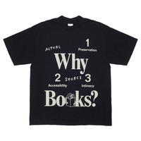 Why Books? Short Sleeve Tshirt by Actual Source