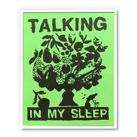 """Talking in My Sleep"" Screen Print by B.Thom Stevenson [額装付き]"
