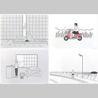 """""""季節の記録"""" Riso Print Group B by 小幡彩貴"""