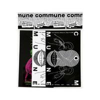 commune Sticker Pack (designed by Ed Davis)