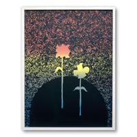 """Same Sky"" Screen Print by Alicia Nauta (Collaboration with Eunice Luk) [額装付き]"