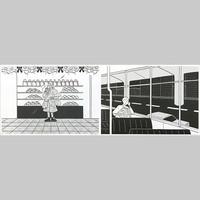 """""""季節の記録"""" Riso Print Group D by 小幡彩貴"""