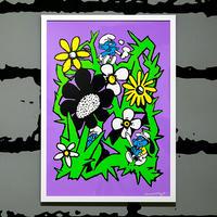 """Day Dream"" Screen Print by SHINKNOWNSUKE [額装付き]"