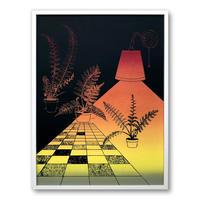 """Soft Dark"" Screen Print by Alicia Nauta [額装付き]"