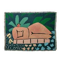 """Regular Blanket """"Garden At Night"""" - bfgf"""