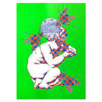 """Contagion"" Screen Print by Ed Davis [プリントのみ]"