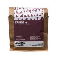 "Deadbeat Club Coffee ""ETHIOPIA (Natural)"""