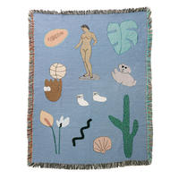 "Mini Blanket ""Soft Palette"" - bfgf"