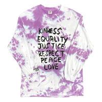 "Ward Long ""Summer Sublet"" Tie-Dye Long Sleeve Tshirt by Deadbeat Club"